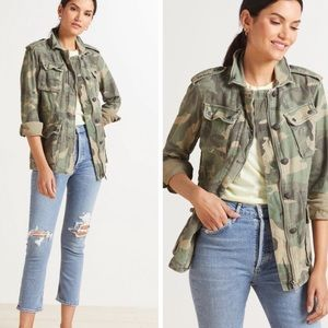 """Free People """"Not Your Brothers"""" Camo Jacket"""